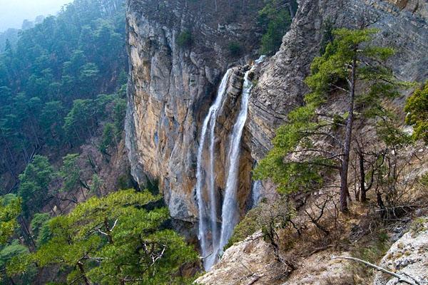 Сколько в Крыму водопадов