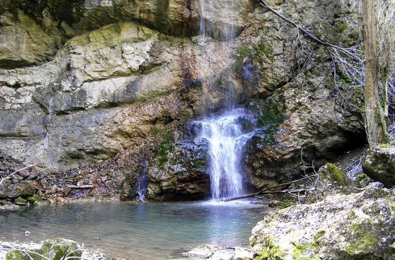 Водопад Суаткан Крым