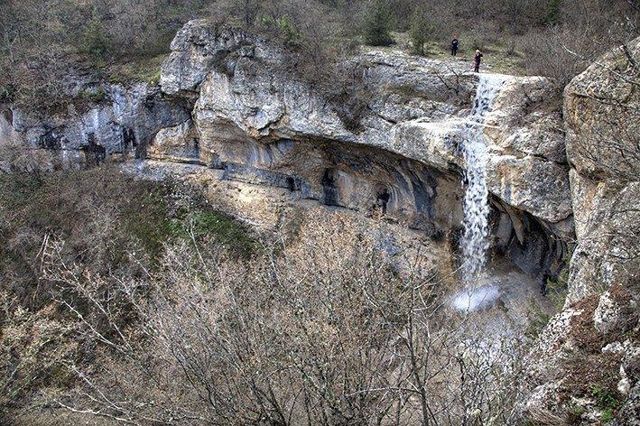 Водопад Фатьма Крым