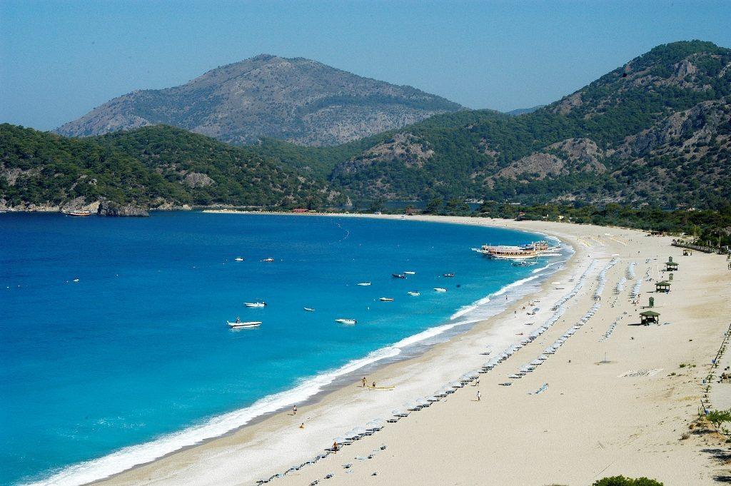Олюдениз — одно из самых красивых мест Турции