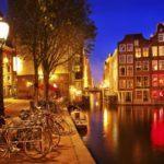 Ночной Амстердам икилометры автостопом. Часть первая