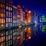 Ночной Амстердам икилометры автостопом. Часть вторая