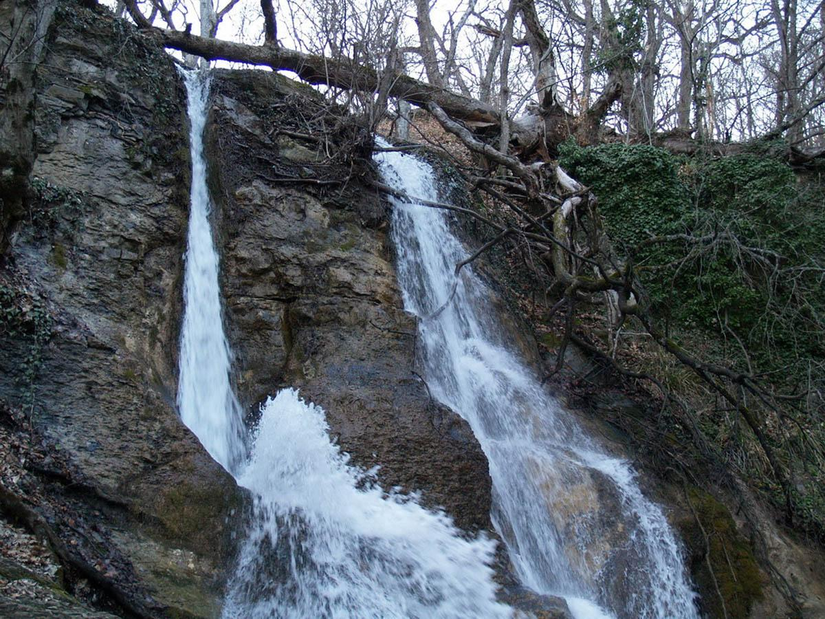 Водопад Гейзер, Крым