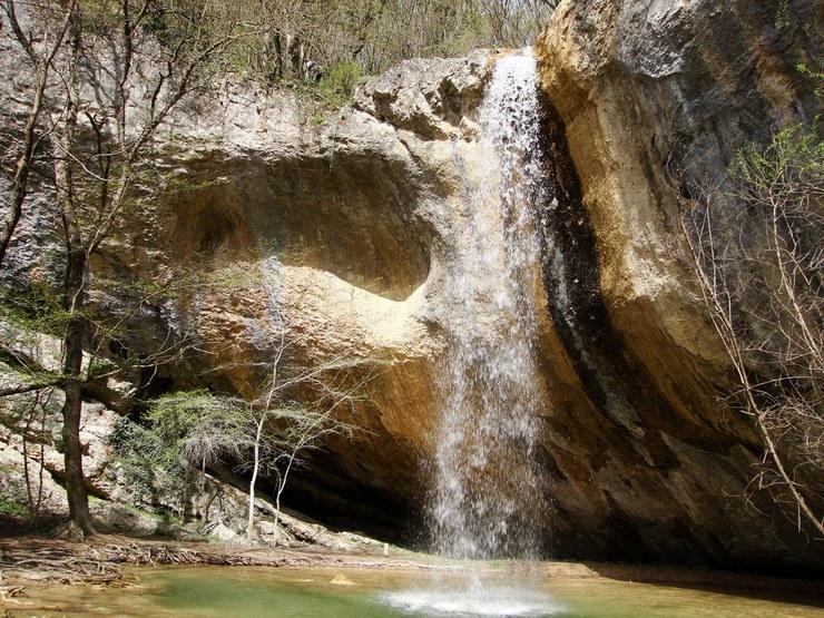 Водопад Козырек, Крым: фото, как добраться