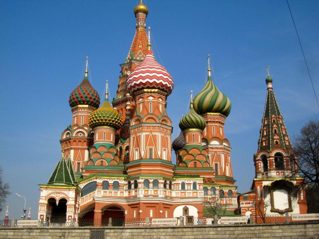Одни из самых популярных достопримечательностей Москвы