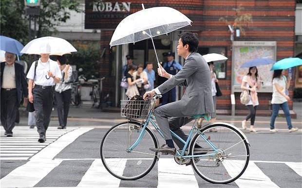 Япония – страна велосипедистов